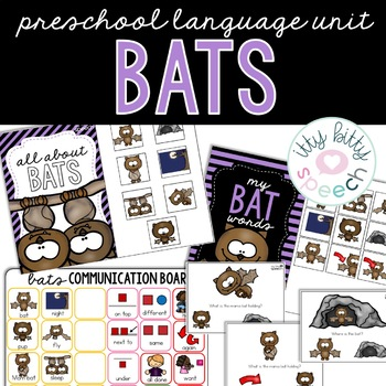 Bats Preschool Language Unit