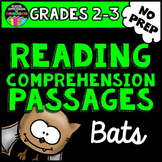Bats Reading Comprehension Passages Freebie for Grades 2-3
