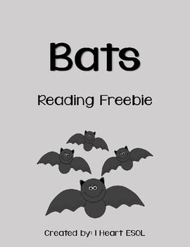 Bats Reading Freebie