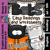 Bats ( Ready to Print Easy Readings and Worksheets)