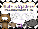 Bats & Spiders Unit - Common Core Aligned
