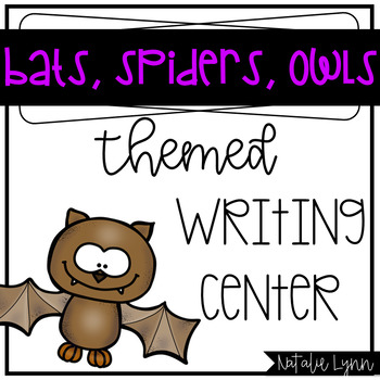 Bats, Spiders, and Owls Writing Center