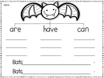 Bats, Spiders, and Skeletons...OH MY!