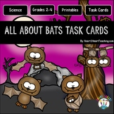 All About Bats Task Cards {EDITABLE}