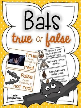 Bats: True or False