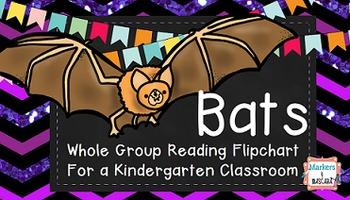Bats! Whole Group Flipchart for Kindergarten
