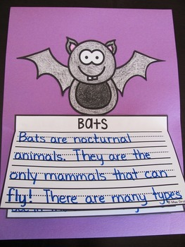 Bats Writing Craft