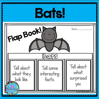 Bats Writing Flap Books!