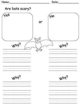 Bats Writing-Informative Opinion Narrative CCSS