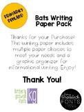Bats Writing Paper