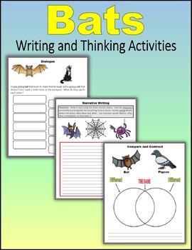 Bats - Writing and Thinking Activities