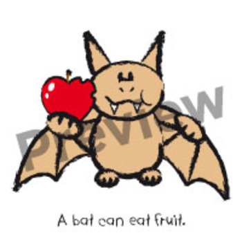 Bats and Cats -  Level 1 Emergent Reader