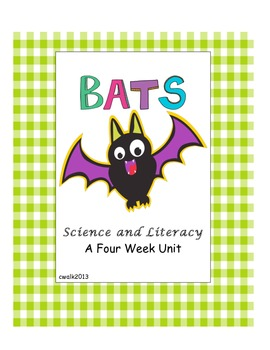 Bats and Caves with Science and Literacy