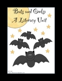Bats and Owls Literacy Unit for Second and Third Graders
