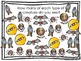 Bats and Spiders Bar Graph and Pictograph Activitiy