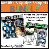 Bats and Spiders Math & Literacy Activities