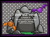 Bats and Verbs: Progressive Verbs Packet for Speech Therapy
