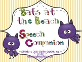 Bats at the Beach Speech and Language Companion