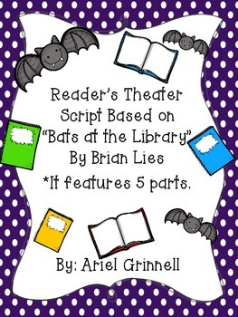 """""""Bats at the Library"""" Reader's Theater Script"""