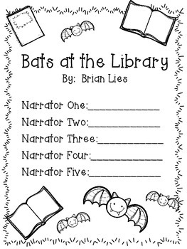 """Bats at the Library"" Reader's Theater Script"