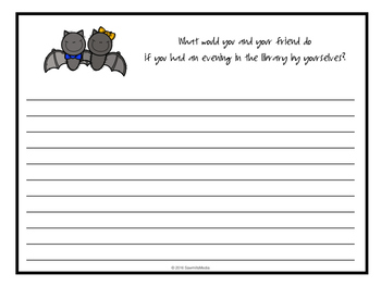 Bats at the Library by Brian Lies - Worksheets to Enjoy with the Book