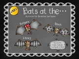 Bats at the...Library, Beach, Ballgame