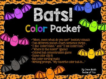 Bats! color packet
