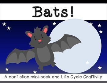 Bats! Nonfiction Minibook with CRAFTIVITY
