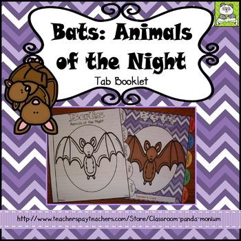 Bats Tab Booklet