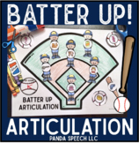 Batter UP! Articulation: A Speech Therapy Craft Activity
