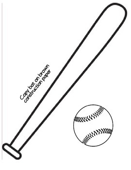 Batter Up: All About Me Baseball Craft