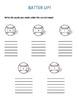 Batter Up - An Activity for Short Vowels