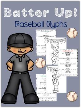 Batter Up!  Baseball Themed Glyphs