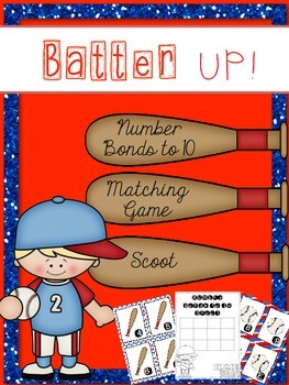 Batter Up! Addition to 10 Game & Scoot {year2tastic}