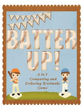 Batter Up! Comparing and Ordering Decimals through the tho
