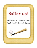 Batter Up! +/- Fact Family Scoot
