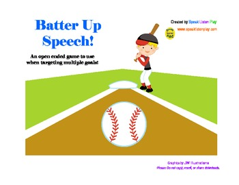 Batter Up Speech!