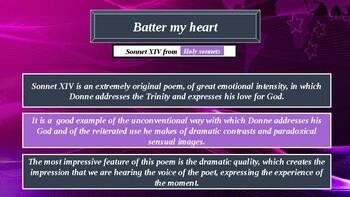 Batter my heart. Analysis. John Donne