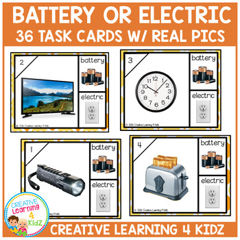 Battery & Electric Cards