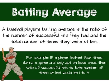 Batting Average Task - Annexing Zeros 6.NS.B.2 & 6.NS.B.3