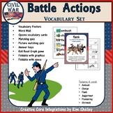 Battle Actions - Civil War Vocabulary