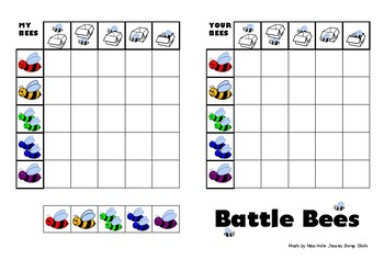 Battle Bees Game