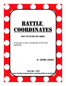Battle Coordinates Plane First 1st Quadrant Battleship