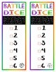 Battle Dice: 3 Variations on a Roll-the-Dice & Check-off-the-Numbers Game!