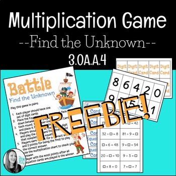 Battle - Find the Unknown - 3.OA.A.4
