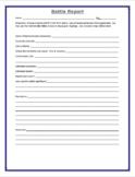Battle Report Form