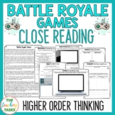 Fortnite Reading Comprehension Passages and Questions