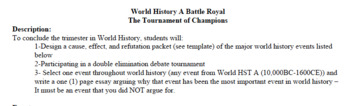 Battle Royale: The Ultimate World History Review Project