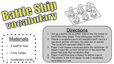 Battle Ship Vocabulary Game