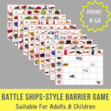 Battle Ships-Style Barrier Game for Children & Adults